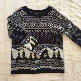 Christmas/Winter European jumper