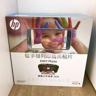 全新 HP Envy Photo 7820 多功能打印機