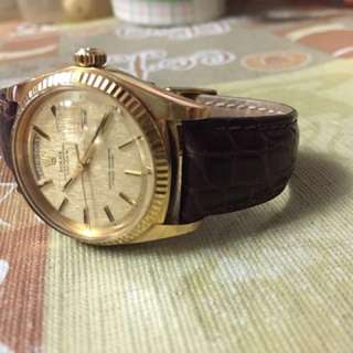 Rolex 1803 18k gold