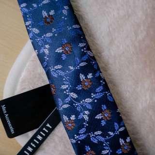 Infinity Floral Tie