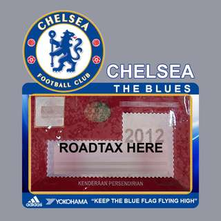 Road Tax Sticker EPL Series - CHELSEA
