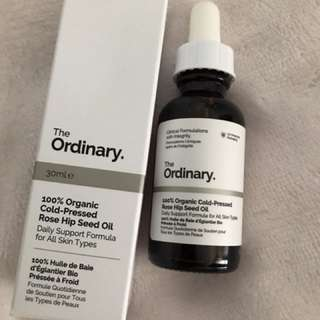 The Ordinary 100% rose hip seed oil