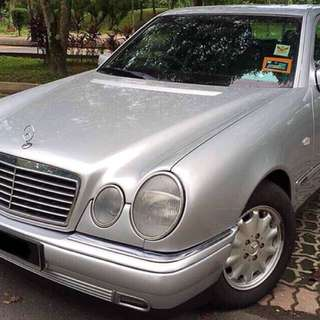 Mercedes Benz W210 E230 (a) 5 speed executive edition.