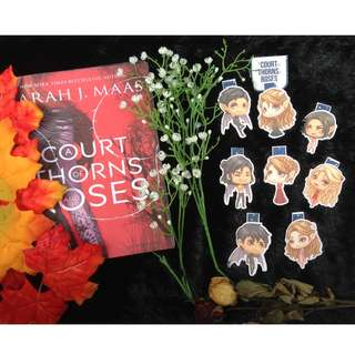A Court of Thorns and Roses Magnetic Bookmark