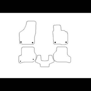 Volkswagen GOLF 車地墊
