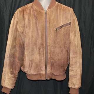 Leather Windbreaker Club International Tip Top