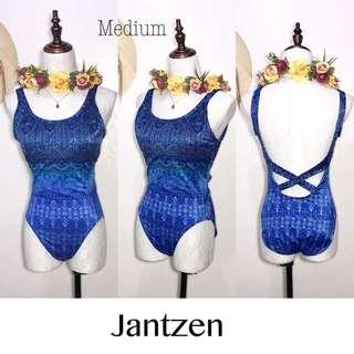Jantzen Branded One Piece Swimsuit FM66