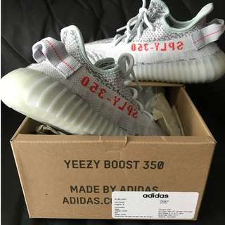 Yeezy V2 350 Blue Tint Receipt Included BNIB