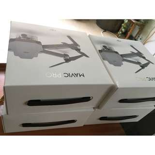 Brand new DJI Mavic Pro Basic