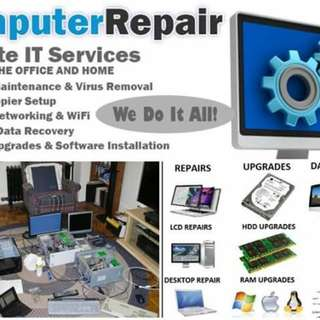 Computer Pc  Repair Home Office Metro Manila