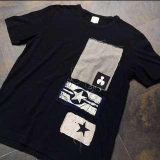 Vintage Patchwork T Shirt