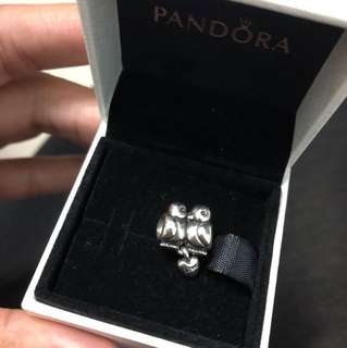 Pandora love bird charm