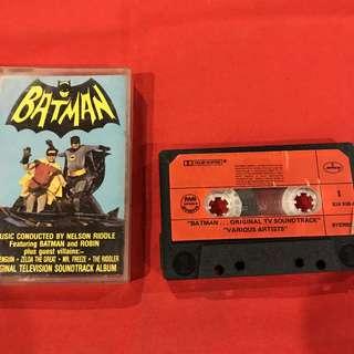 Original Batman TV series Soundtrack (audio cassette tape)  COLLECTORS' ITEM