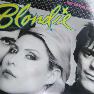 Blondie Eat To The Beat SINGAPORE Press Orange label Rare