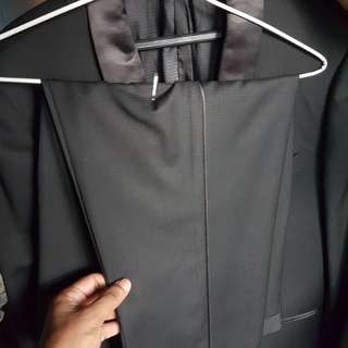 Tuxedo Black Groom Suit