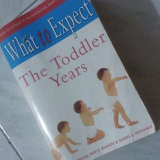 The toddler Years Book