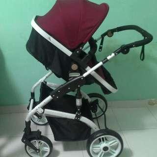 Moonstar stroller baby