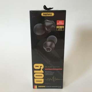 100% new新 – Remax Earphone 610D線控入耳式耳機/耳筒