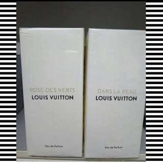LOUIS VUITTON EDP ROSE DES VENTS & DANS LA PEAU 100ML
