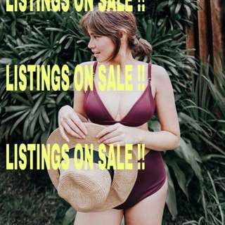 LISTINGS ON SALE !!