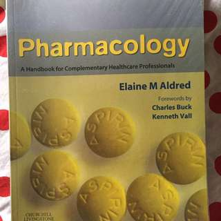 Pharmacology book( Elaine M Aldred)
