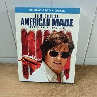 American Made - Blu Ray & DVD - US Import(original)