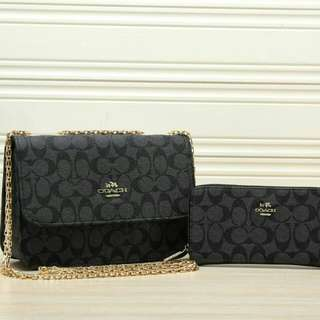 Coach set 2 in 1 handbag