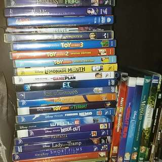 Disney CD and DVD