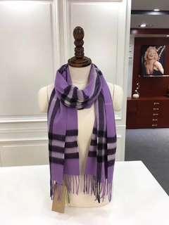 巴寶莉 burberr   圍巾 披肩 水波紋經典羊絨 30180的經典尺寸