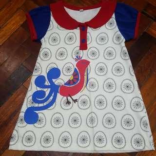 Baby Dress - Bird