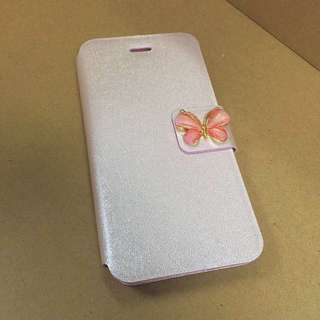 "Brand New iPhone 6/6S 4.7"" inch Flip Cover Pink 手機套電話殼"