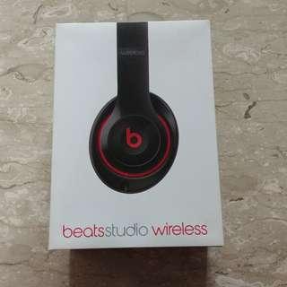 Beats by Dr Dre Beats Studio Wireless Black