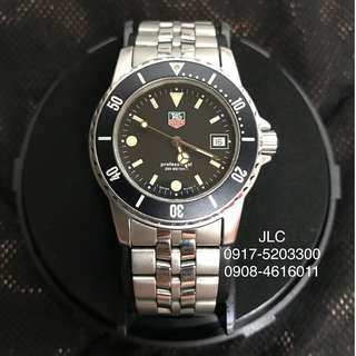 Classic TAG Heuer Professional Diver 200m WD1210-DO
