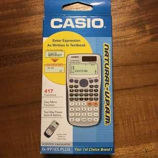 卡西歐 Casio 工程計算機 9.9成新