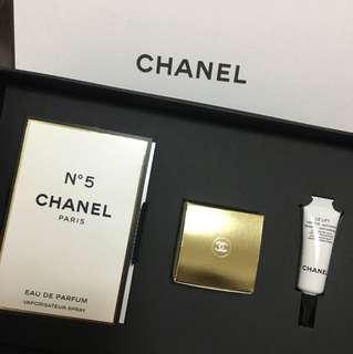 🚚 Chanel 香水、乳液、眼部精華禮盒組