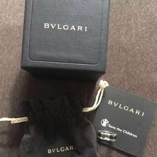 🌟Limited Edition🌟Bvlgari Save The Children sterling silver ring