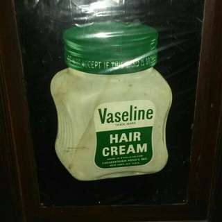Tin sign vaseline