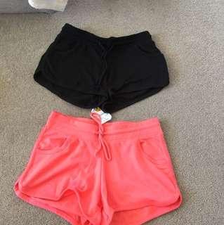 2x shorts