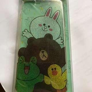 I phone7 plus case line brown🐻