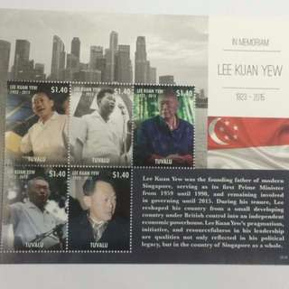 Tribute LKY stamps