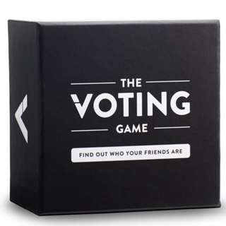 The Voting Game Card/Board Game