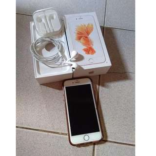 Iphone 6s 16gb rosegold (globe locked)