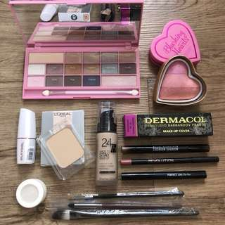 Makeup Bundle Set