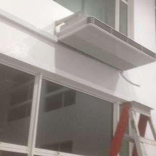 service aircond & elektrikal