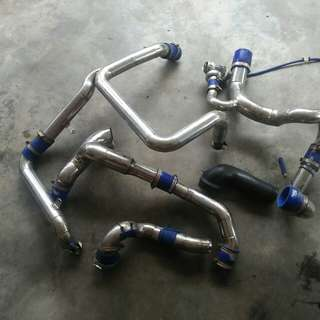 Intercooler piping v6 turbo