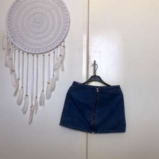 Dotti Denim Skirt Size 10