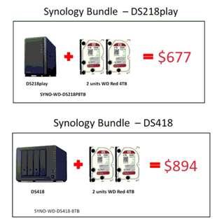 Synology & Western Digital Red HDD Bundle Promotion