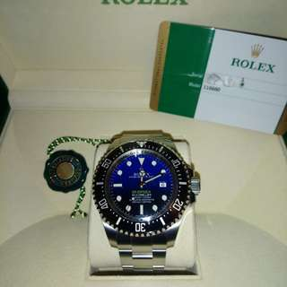 116660 Rolex Deepsea D'Blue 44mm