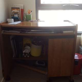 Wooden Study/work table (negotiable)