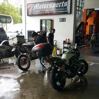 Bike Wash & Spa